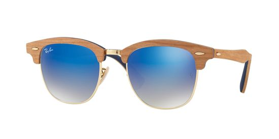 Picture of Ray Ban RB3016M CLUBMASTER (M) Sunglasses