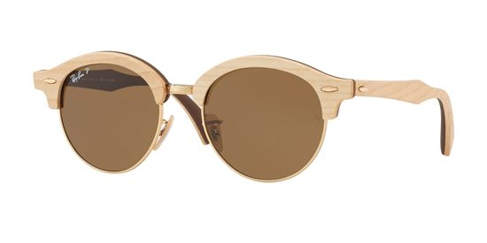 Picture of Ray Ban RB4246M CLUBROUND WOOD Sunglasses